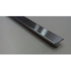 Т-образный профиль из нержавеющей стали сатинированный ПНТ-20