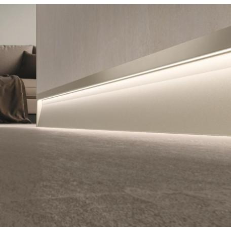 Плинтус алюминиевый со светодиодной подсветкой Metal Line S – XL Design от производителя Италия за 1.00 р.