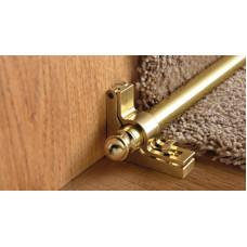 TSTBO 129S ковро держатель лестничный трубка 12мм алюминий блестящий золото Progress Profiles 0,9м
