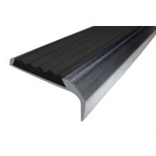 Алюминиевый накладной угол-порог 42 мм/23 мм
